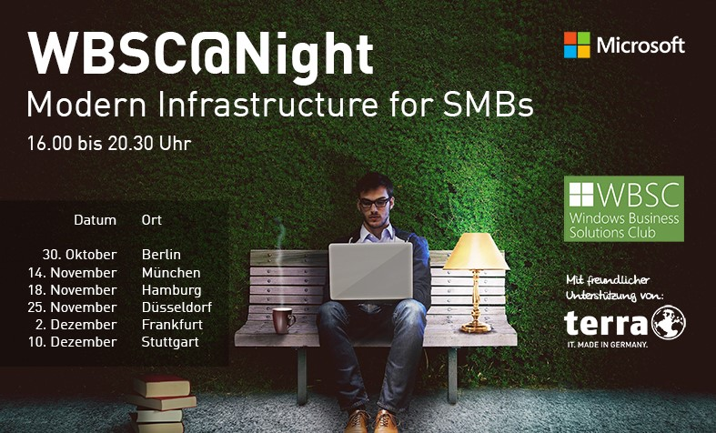 Windows Business Solutions Club – Unsere Techniker waren dabei!